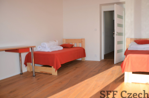 Modern 3 bedroom apartment to rent Prague 10 Vršovice