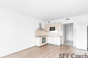 New partly furnished apartment to rent, Praha 9 - Libeň close Galerie Harfa