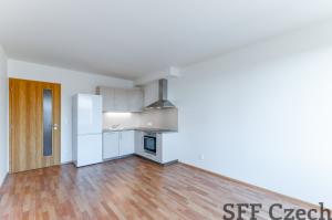 New apartment 1+kk to rent in new building Praha 9 Vysočany