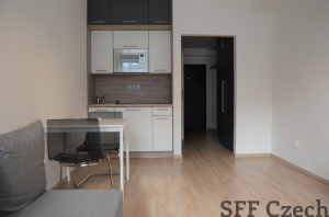 New modern studio to rent in Prague 5 Malvazinky Rezidence vbloku