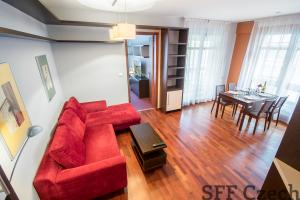 Krásný zařízený byt 2+kk v rezidenci s recepci bez provize