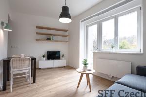 Zařízený moderní byt 1+kk k pronájmu Praha 6 - Veleslavín
