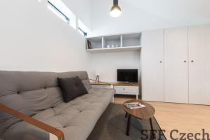 Modern fully furnished flat 1+kk, Prague 6 close to Dejvická