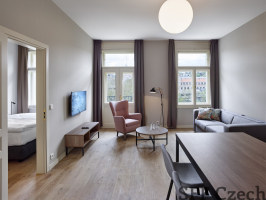 Nice new modern fully furnished apartment to rent in center of Prague