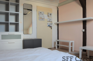 Nice modern new furnished room to rent close I.P.Pavlova, Prague 2