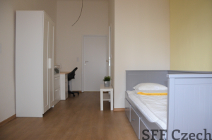 New furnished room in shared flat with private bathroom Prague 2