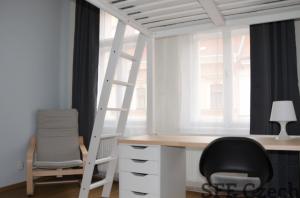 New modern furnished room to rent Prague 2 - Nové město near center