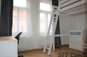 Students room to rent in Prague 2 Nove mesto close to center of Prague