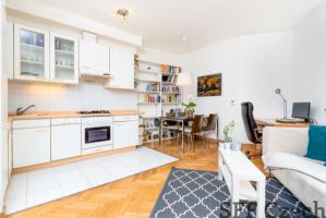 Nice furnished 1 bedroom apartment next Grebovka Prague 10